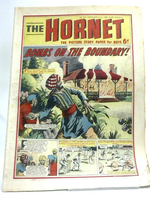 The Hornet. The Picture Story Paper No 324 Nov 22nd, 1969 By Various