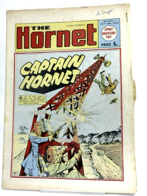 The Hornet. The Picture Story Paper No 632 Oct 18th, 1975 By Various