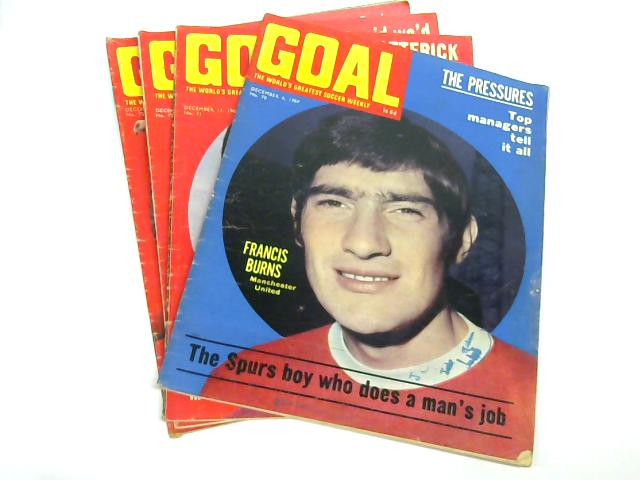 Goal, The World's Greatest Soccer Weekly, December 1969, No. 70-73 By Alan Hughes