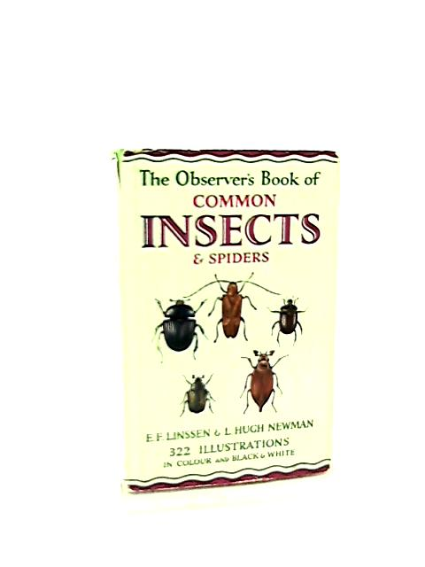 The Observer's Book of Common Insects & Spiders by E. F. & Newman, L. H. Linssen
