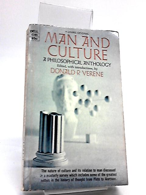Man and Culture by Verene, Donald P