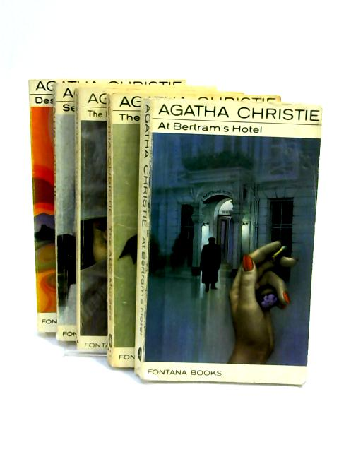 Set of 5 Agatha Christie Novels Vintage Paperbacks by Agatha Christie