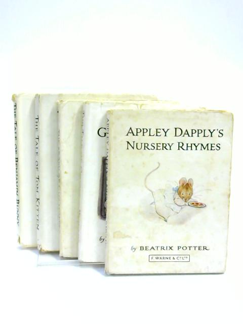 Set of 5 Beatrix Potter Vintage Hardbacks by Beatrix Potter