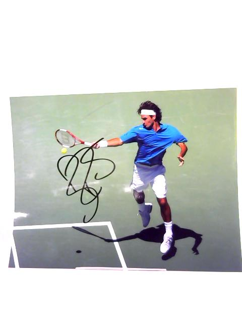 Roger Federer signed photo by Anon