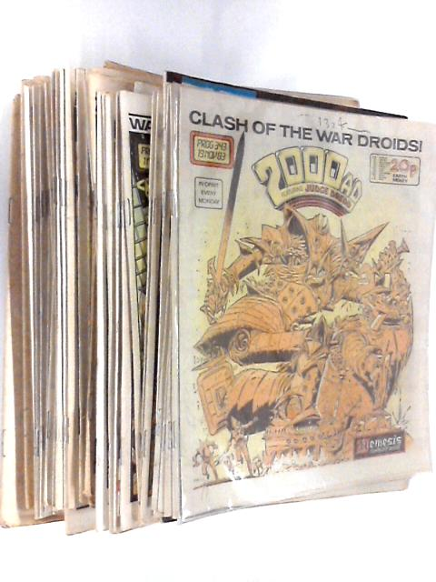 2000 AD, Featuring Judge Dredd - Bundle of 43 Issues by Various