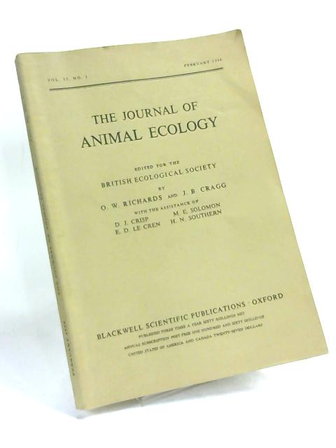 The Journal of Animal Ecology, Vol 35 No 1, February 1966 by O W Richards