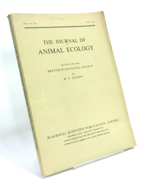 The Journal of Animal Ecology, Vol 30, No 1, May 1961 by Anon