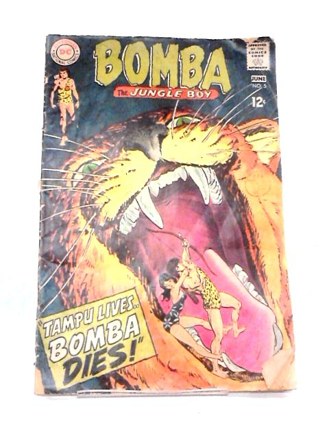 Bomba the Jungle Boy, No. 5 June 1968 By Various
