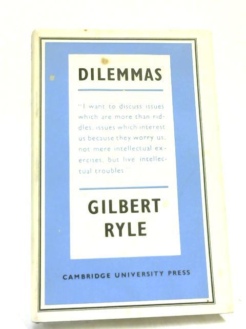 Dilemmas by Gilbert Ryle