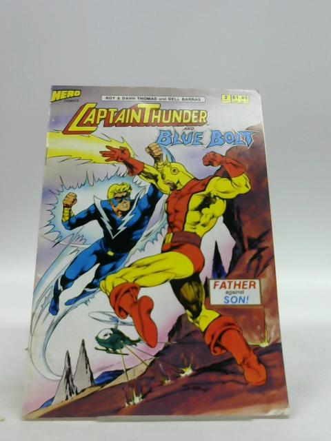 CAPTAIN THUNDER BLUE BOLT VOL 1 NO 2 by Unknown