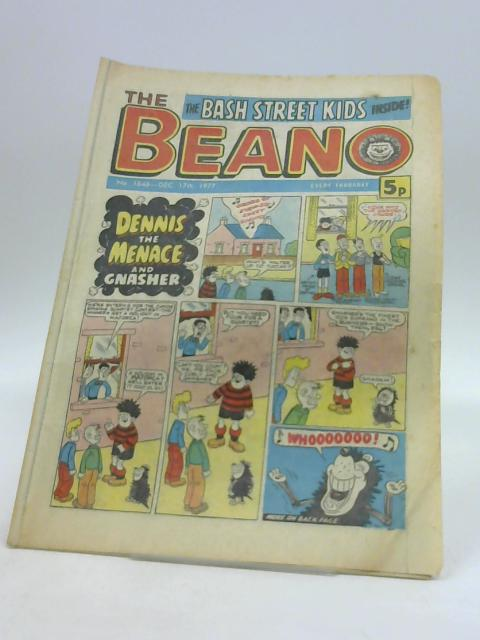 The Beano No. 1848 Dec. 17th 1977 by Unknown