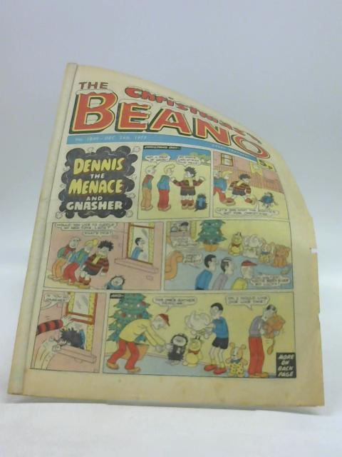 The Christmas Beano No. 1849 Dec. 24th 1977 by Unknown