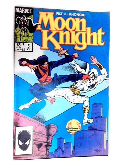 Moon Knight, Vol. 2, No. 5 by Marvel Comics