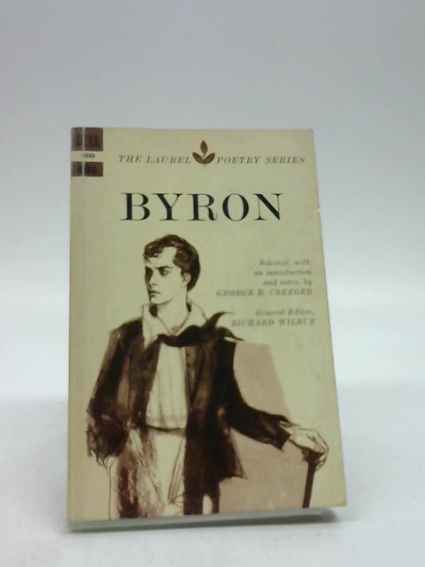 Byron (The Laurel Poetry Series) by Byron, George Gordon Byron