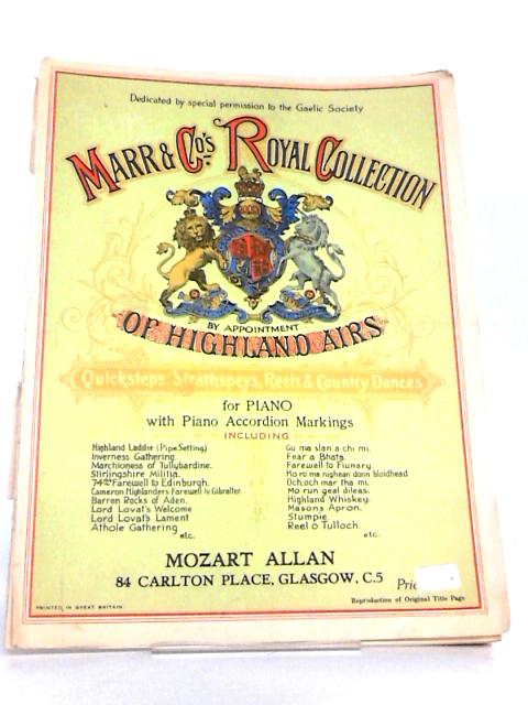 Marr & Co's Royal Collection of Highland Airs for Piano by Various