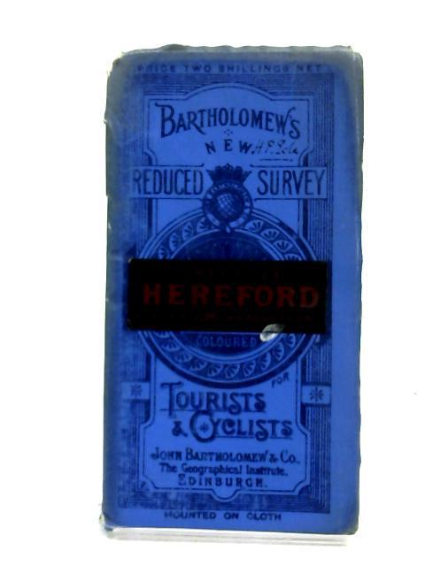 Bartholomew Reduced Survey Sheet 23 Hereford by Anon