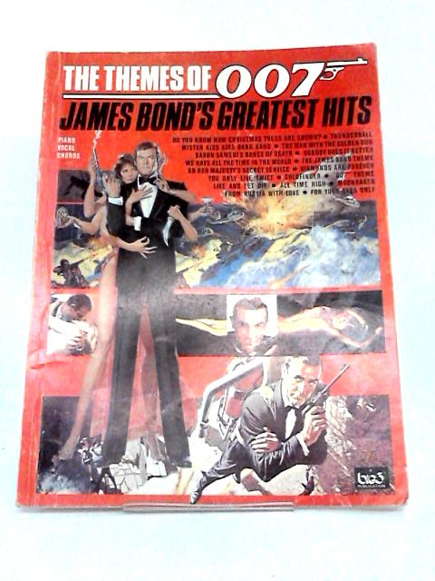 James Bond 007 James Bond's Greatest Hits Piano, Vocal, Chords by Various