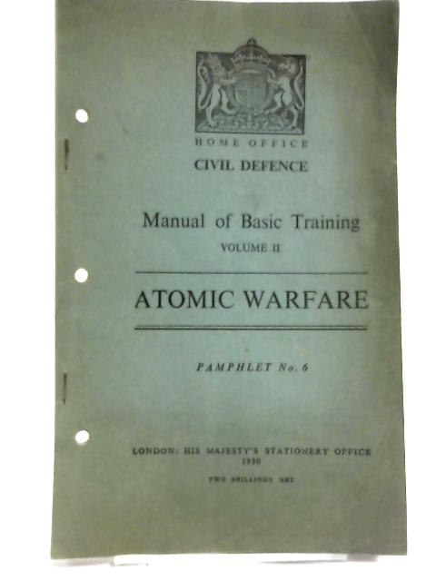 Manual of Basic Training By Home Office