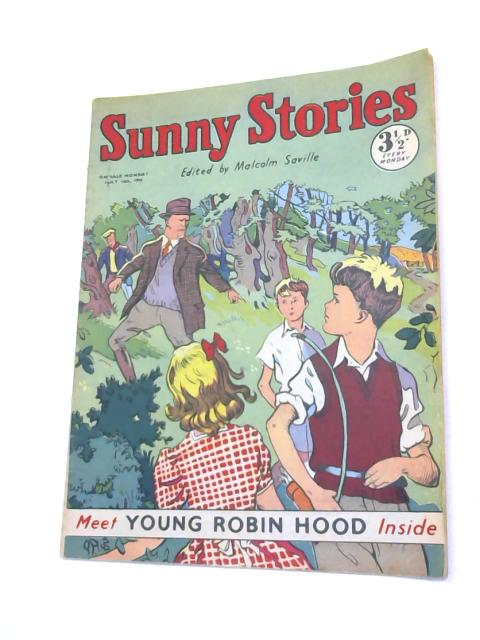 Sunny Stories: July 16th 1956 By Malcolm Saville