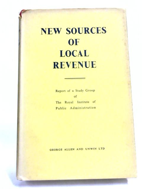 New Sources of Local Revenue By Non Stated