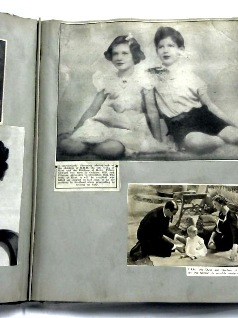 A Scrap-Book of Newspaper Cuttings from 1940's by Anon
