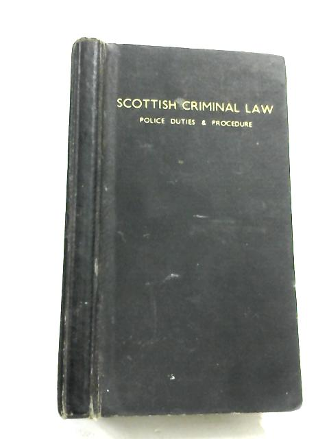 Scottish Criminal Law, Police Duties and Procedure by Grampian Police