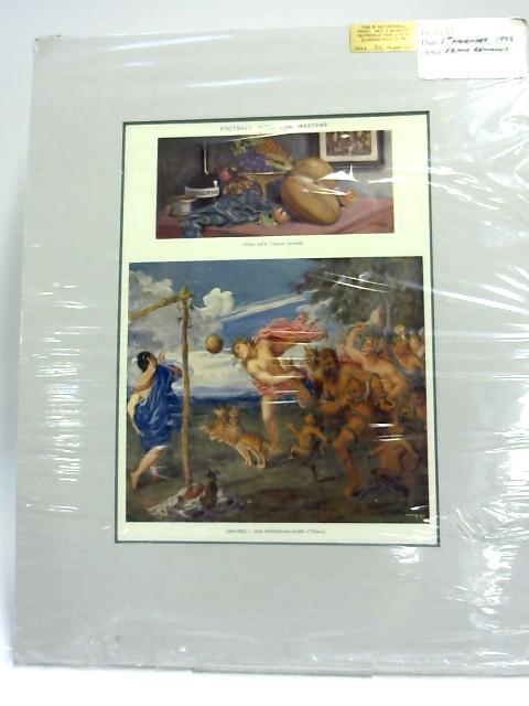 Original Frank Reynolds Print 1922 15' x 12'. By Frank Reynolds