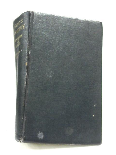 Gray's Anatomy by T. B. Johnston & J. Whillis