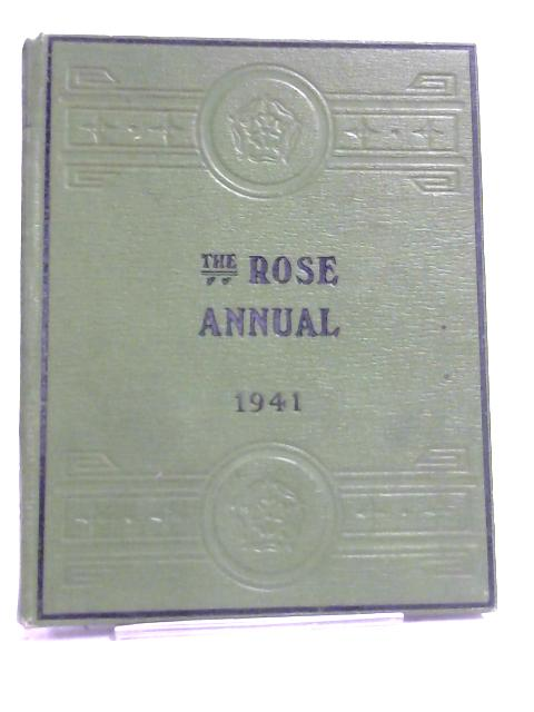Rose Annual For 1941 By Courtney Page
