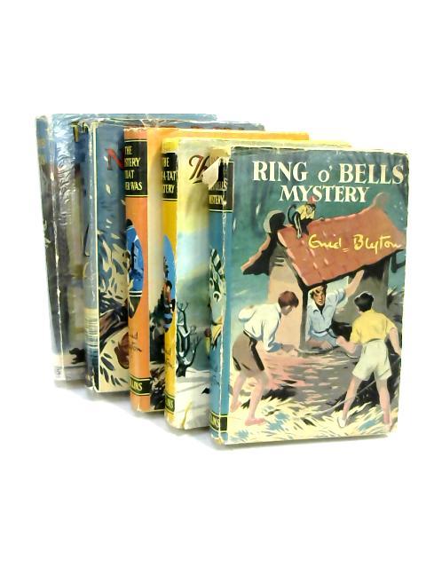 Set of 5 Enid Blyton Novels Vintage Hardbacks by Enid Blyton
