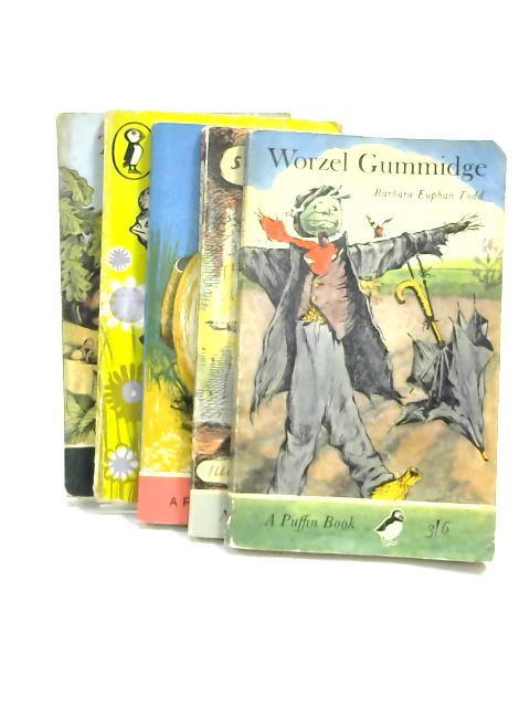 Set of 5 Children's Classics Puffin Paperbacks by Various