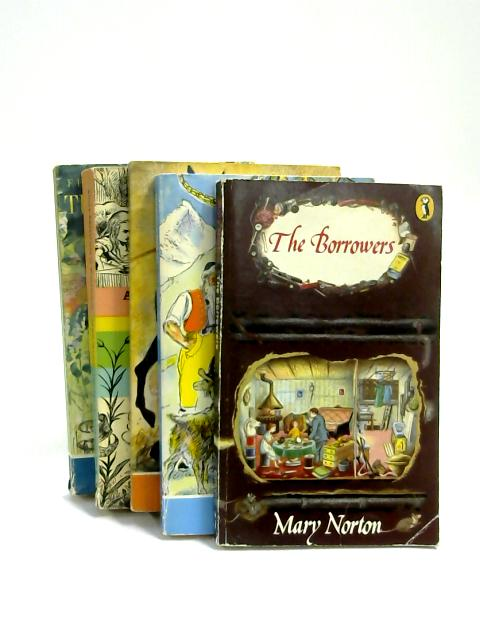 Set of 5 Children's Classics Vintage Puffin Paperbacks by Various