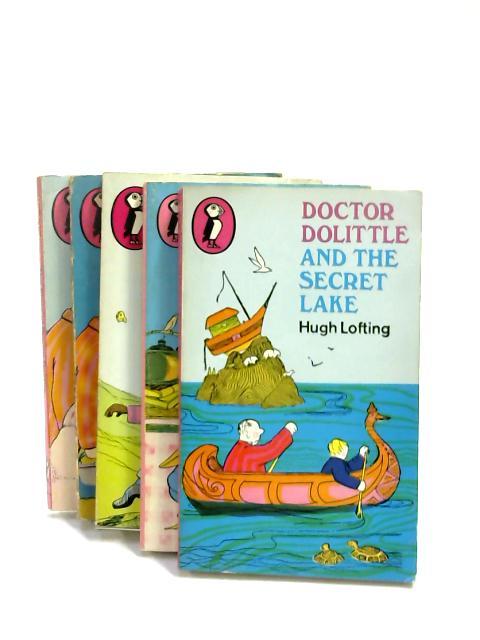 Set of 5 Dr. D's Novels Vintage Puffin Paperbacks by Hugh Lofting