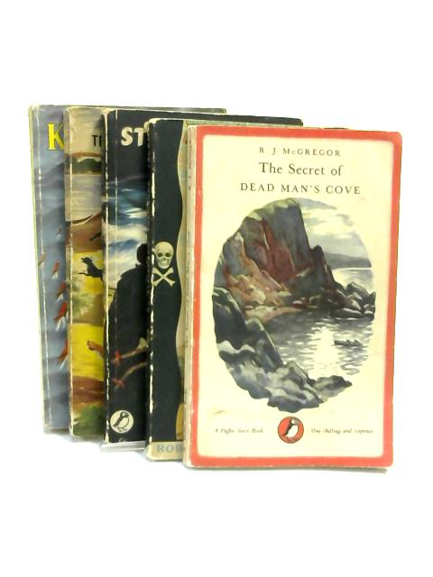 Set of 5 Children's Classic Novels Vintage Puffin Paperbacks by Various