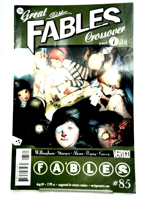 Great Fables Crossover 7 by Unknown