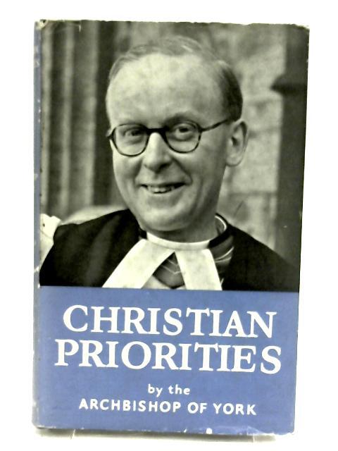 Christian Priorities by Coggan, Donald