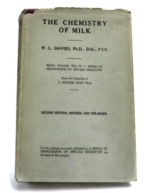 The Chemistry of Milk By W. L. Davies