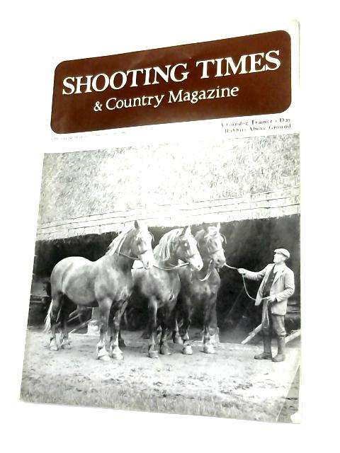 Shooting Times & Country Magazine March 23 1968 by Anon
