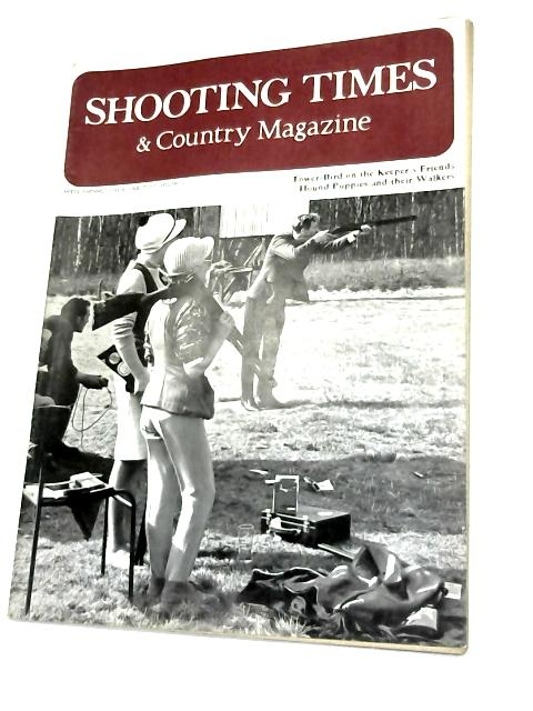 Shooting Times & Country Magazine June 8 1968 by Anon