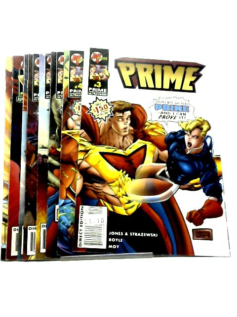 Prime, Vol. 2, #3 December 1995 - #10 July 1996 by Len Strazewski & Gerard Jones