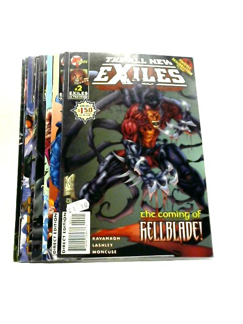 The All New Exiles, Vol. 2, #2 November 1995 - #9 June 1996 by Terry Kavanagh