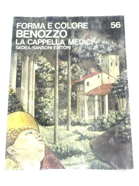 Benozzo: la Cappella Medici by A. Busignani