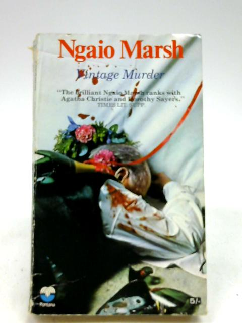 Vintage Murder by Marsh, Ngaio
