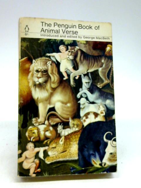 Penguin Book of Animal Verse by George Macbeth