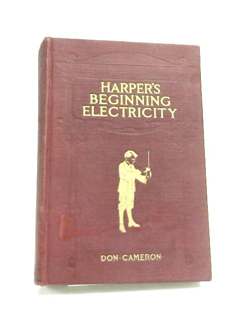 Harper's Beginning Electricity by Shafer