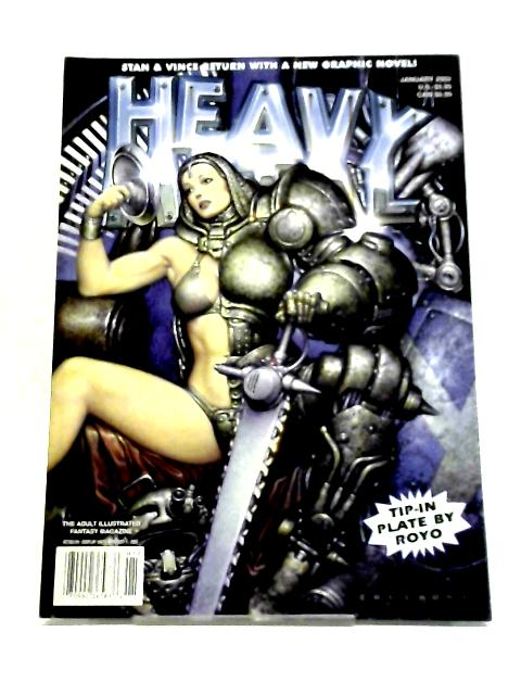 Heavy Metal Illustrated Fantasy Magazine. Jan, 2002 by Various Authors