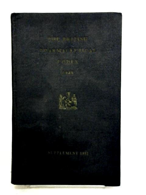 British Pharmaceutical Codex 1949 by The Pharmaceutical Press