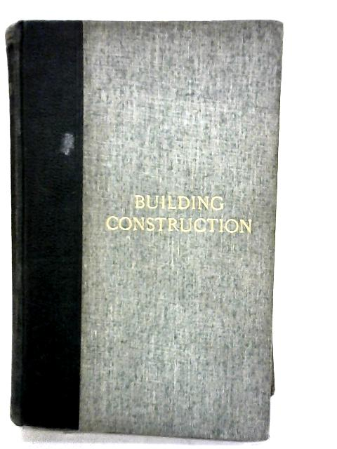 Building Construction by Beresford pite et al