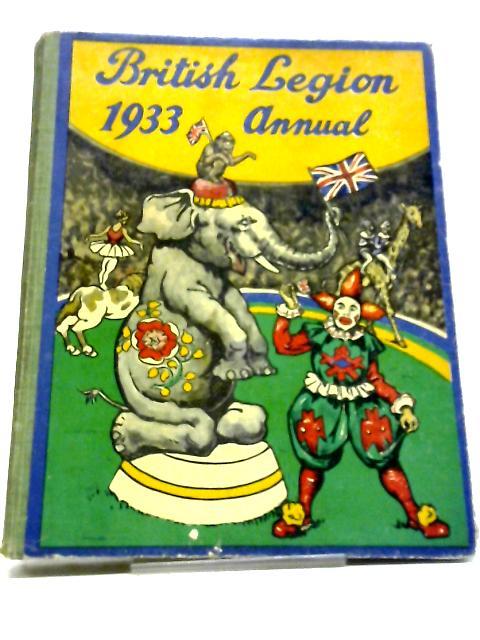 The British Legion 1933 Annual by Jerrold Vassall Adams