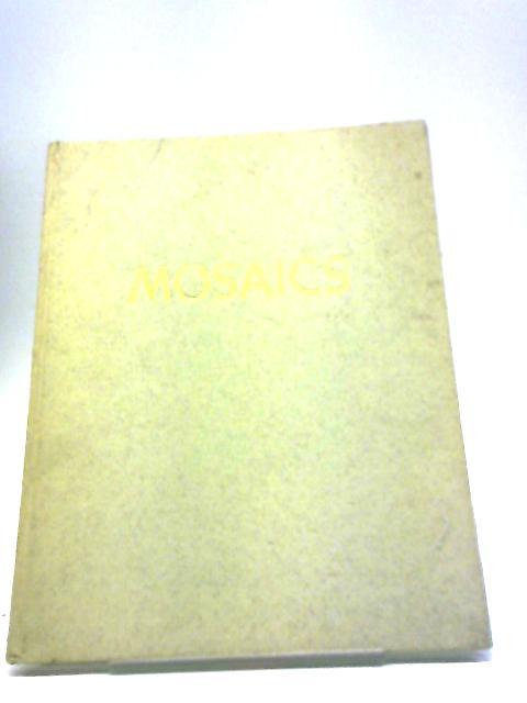 Mosaiken. Mosaics (Herder Art Series. Larger volumes. no. 2.) by Johannes Kollwitz